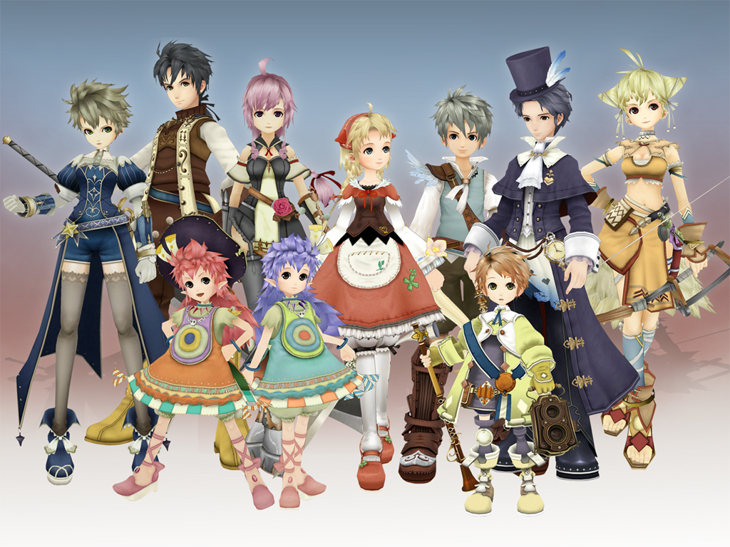 Main Characters of Eternal Sonata
