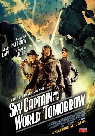 Sky Captain and the World of Tomorrow: Oh jeepers | Faceplant!